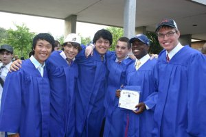 Me and some of the guys I graduated with.